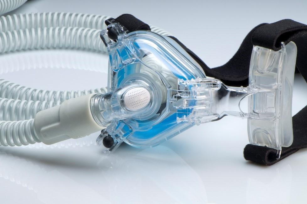 CPAP used to treat sleep apnea in Lagrange.